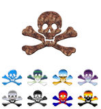 Skulls collection #2 Royalty Free Stock Image
