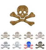 Skulls collection #3 Royalty Free Stock Photography