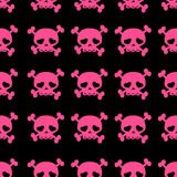 Skulls on crossbones Stock Photos