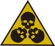 3 Skulls design  Royalty Free Stock Images