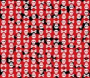 Skulls grunge background. Stock Image