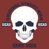 Skulls  Grunge  Dead Royalty Free Stock Images