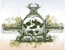 Skulls illustration Royalty Free Stock Image
