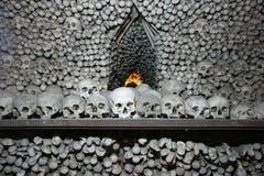 Skulls kutna hora stock photography