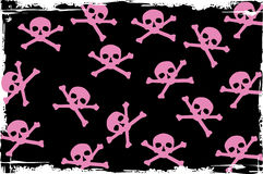 Skulls pattern Royalty Free Stock Images