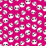 Skulls seamless pattern Royalty Free Stock Photography