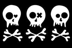 Skulls set Stock Images