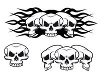 Skulls tattoo Stock Photos