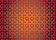 Skullz wallpaper. Wallpaper with skulls Stock Image