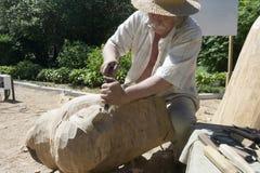 skulptör arkivfoto