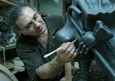 Skulptör Royaltyfri Bild