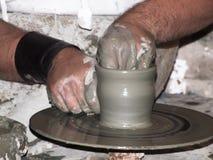 Skulptörhänder Royaltyfri Bild