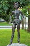 Skulptera `-Artyomka ` i Taganrog, Ryssland royaltyfria bilder