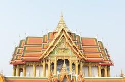 Skulptera att mäta och det himmelskt - den Watbuakhwan templet, Nonthaburi Royaltyfria Bilder