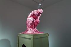 Skulptera på den koreanska paviljongen av den 57th Venedig Biennale Royaltyfri Bild