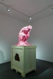 Skulptera på den koreanska paviljongen av den 57th Venedig Biennale Arkivfoton