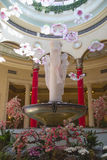 Skulptera på hjärtförmaken av kasinot för det Palazzo semesterorthotellet i Las Vegas Fotografering för Bildbyråer