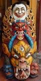skulptera tibetant Arkivbild
