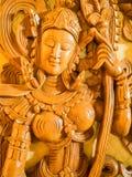 Skulpterade trän Royaltyfria Foton