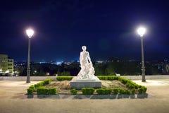 """""""Skulpterar miraklet av ängeln och San Isidro"""", Madrid Arkivfoto"""