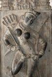 skulpterar tempelet Royaltyfri Fotografi