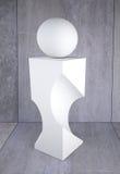 skulptur vektor illustrationer