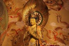 Skulptur, arkitektur och symboler av Hinduism och buddism royaltyfri bild