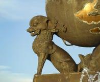 Skulptur in Asien Kyzyl Tuwa Lizenzfreies Stockfoto