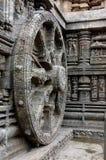 Skulptur auf dem Tempel von Konarak-Orrisa. Stockfotos