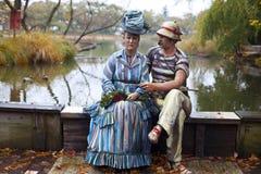 Skulptur auf dem Thema von Monet Lizenzfreie Stockfotos
