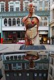 Skulptur auf Kalk-Straße Stockfoto
