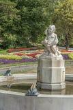 Skulptur aufgestellt bei Wellington Botanic Garden, Neuseeland stockfotografie