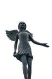 Skulptur av ängeln Royaltyfri Foto