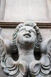 Skulptur av en ängel Arkivfoto