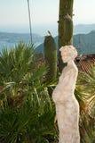 Skulptur av en gravid kvinna Arkivbild