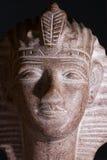 Skulptur av farao Tutankhamun arkivfoton