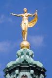 Skulptur av gudinnan Fortuna Royaltyfri Foto