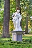 Skulptur av Hercules i Valkenberg parkerar, Breda, Nederländerna Arkivbilder