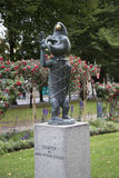 Skulptur av Kasper Royaltyfria Foton