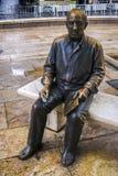 Skulptur av målaren Pablo Picasso Arkivfoton
