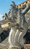 Skulptur av naga Royaltyfri Foto