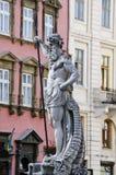 Skulptur av Neptun Royaltyfri Foto