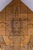 Skulptur av paviljongen fot vila Fotografering för Bildbyråer
