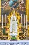 Skulptur av vår Lady royaltyfri bild