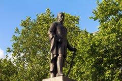 Skulptur av Viktig-allmänna Sir Henry Havelock på Trafalgar Square, London, 2015 Royaltyfria Foton