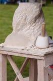 Skulptur in Bewegung Stockbild