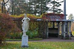 Skulptur in Catherine Park Stockfotografie