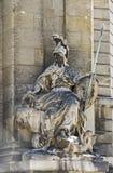 Skulptur der Göttin Minerva Stockfotografie
