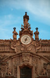 Skulptur der Heiliger der Kathedrale Sankt Prisca Stockfoto