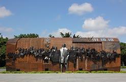 Skulptur der Revolution 1911 Stockbild